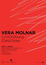 "Ausstellungsplakat ""Vera Molnar"""