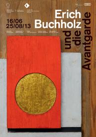 "Ausstellungsplakat ""Erich Buchholz"""