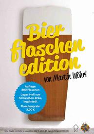 """Ausstellungsplakat """"Martin Wöhrl. 12 Halbe"""""""